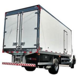 Caminhão baú refrigerado novo