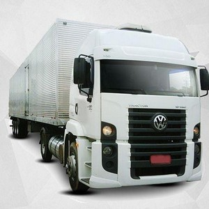 Baú de alumínio para caminhão toco