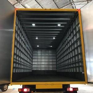 Baú de alumínio para caminhão truck