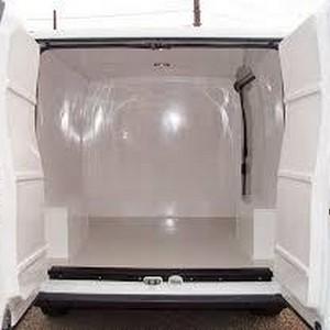 Isolamento térmico para furgão